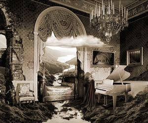 piano and art image