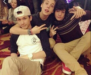 magcon, aaron carpenter, and matthew espinosa image