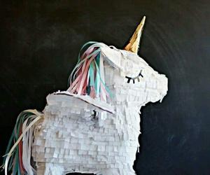 unicorn, pinata, and sweet image
