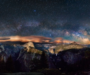astronomy, sky, and stars image