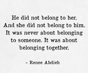 to him, to her, and did not belong image