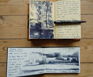 art, drawing, and sketch journals image