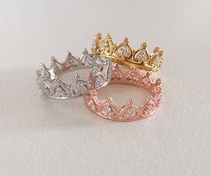 accessories, rings, and gold image