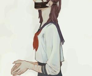 arte, Chica, and uniforme image