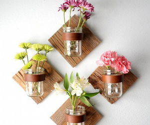 decorating, diy, and flowers image