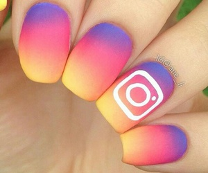 instagram and nails image