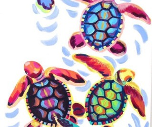 turtle, wallpaper, and art image
