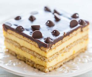 cake, chocolate, and boston cream image