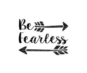 bnw, fearless, and overlay image