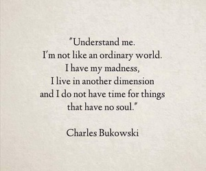 quotes, soul, and charles bukowski image