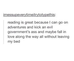 adventure, love, and books image