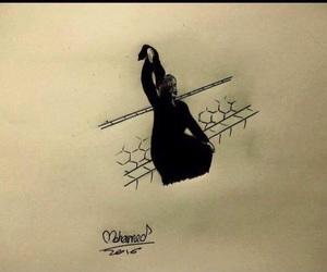 draw, العراق , and prayforbaghdad image