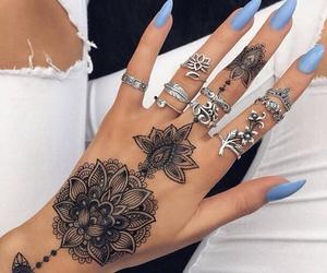 arabic, fashion, and nails image