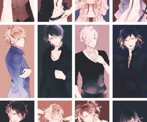 anime, diabolik lovers, and vampiri image