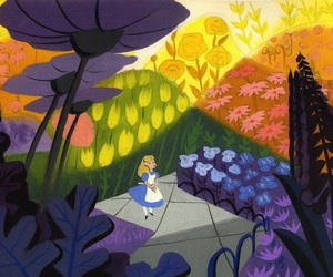 alice in wonderland, alice, and mary blair image