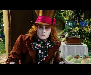 2016, johnny depo, and mad hatter image