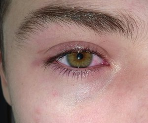 boy, eye, and eyebrow image