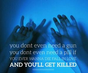 gun, hello, and pill image