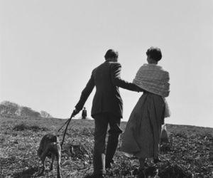 audrey hepburn, dog, and love image