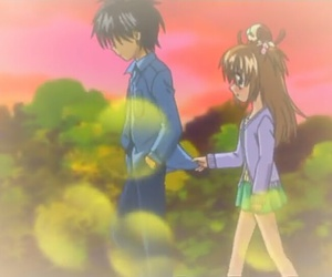 anime, chat, and couple image