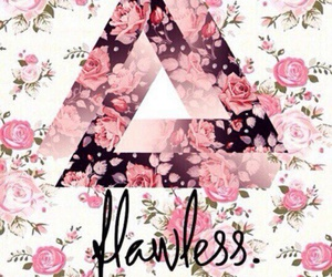 flawless, flowers, and pink image