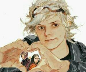 quicksilver, magneto, and Marvel image