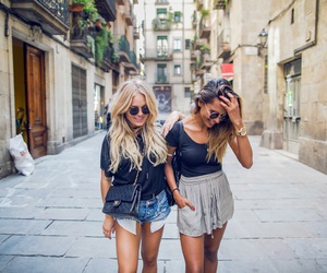 fashion, friends, and girls image