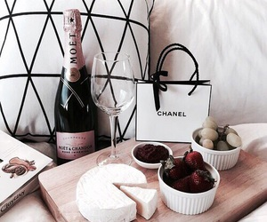 food, chanel, and drink image