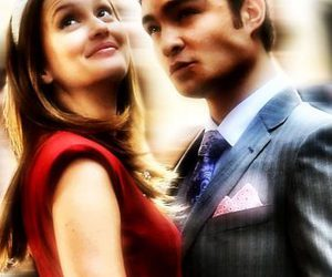 chuck bass, blair and chuck, and relationship goals image