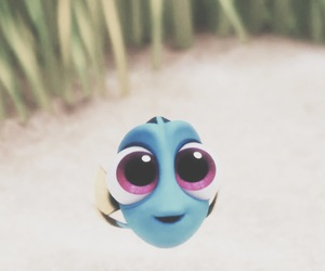 cute, baby, and dory image