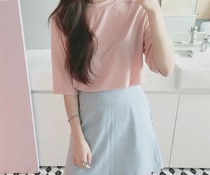 kfashion, pastel, and pink image