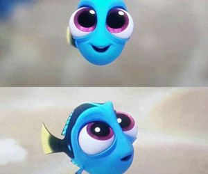 baby, disney, and dory image