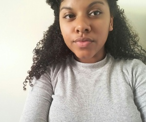 Afro, curly, and afrp image