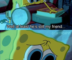 friends, memories, and spongebob image