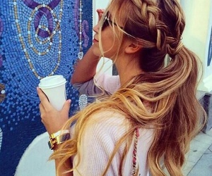 cool, fashion, and hairs image