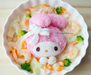 food, kawaii, and sanrio image