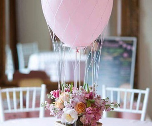 balloon, diy, and flowers image