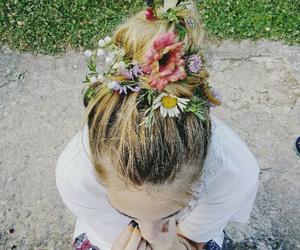 bun, rose, and summer image