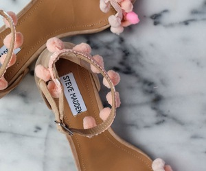 fashion, pink, and sandals image