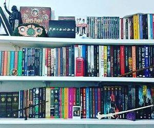 book, books, and bookshelf image