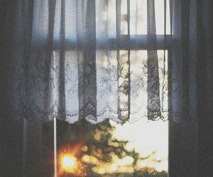 window, vintage, and sun image