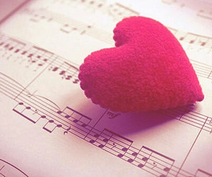 heart and music image