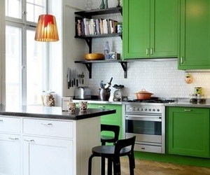 kitchen green image