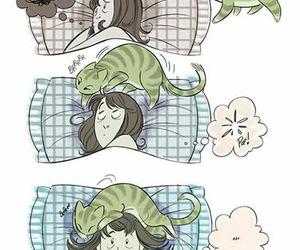 cat, sleep, and Dream image