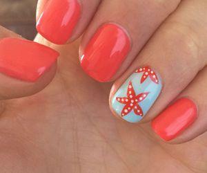 nails, summer, and nail art image