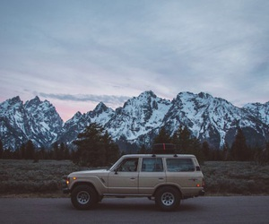 mountains, car, and Road Trip image