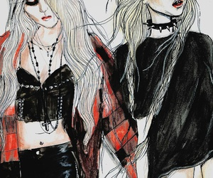 art, the pretty reckless, and Taylor Momsen image