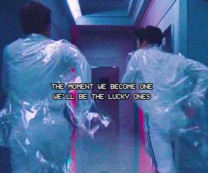 exo, lucky one, and Lyrics image