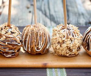 food, chocolate, and caramel image