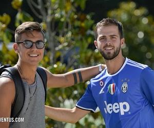 Juventus, miralem pjanic, and paulo dybala image